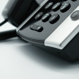 Image of Polycom VVX IP handset from Columbus UK.