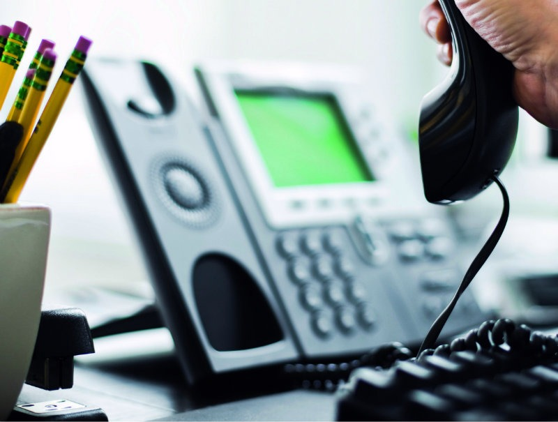 Image of Cisco IP handset. Hosted Telephony, SIP Trunks, Business Phone Systems and Phone Numbers from Columbus UK.