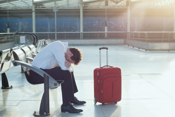 Business travel woes in extreme weather could be avoided by using virtual meetings. Image of travelers delayed at Euston Station. The Horizon Collaborate UC service provides virtual meetings for up to 50 participants (audio conference) and 15 participants for video.